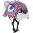 Crazy Safety Leopard Sykkelhjelmer Barn Rosa/Hvit